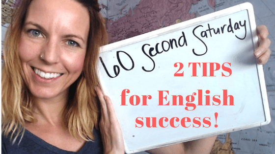 tips for English success