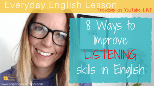 improve listening skills in English