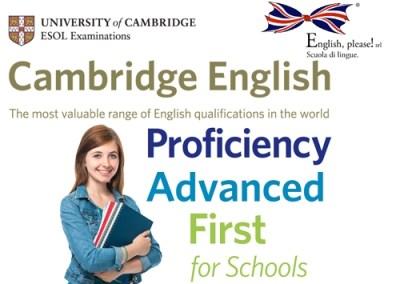 Corsi di preparazione agli esami FCE, CAE & CPE