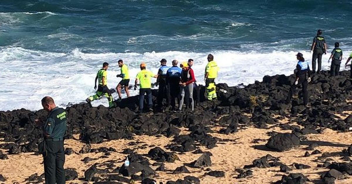 Death toll rises to nine dead after migrant boat capsizes off Lanzarote coast