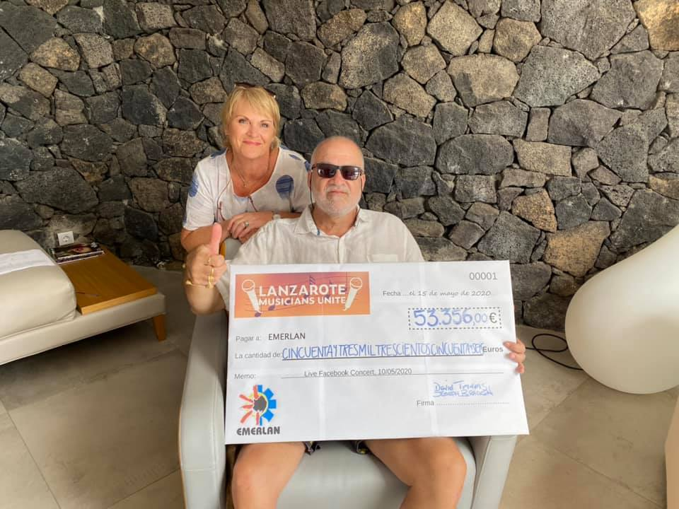 Musicians raise €50,000 for Lanzarote charity