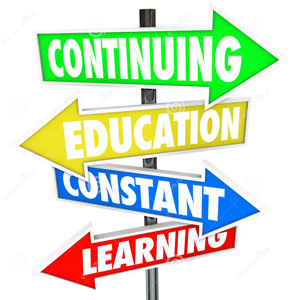 Continuing Education Constant Learning Image