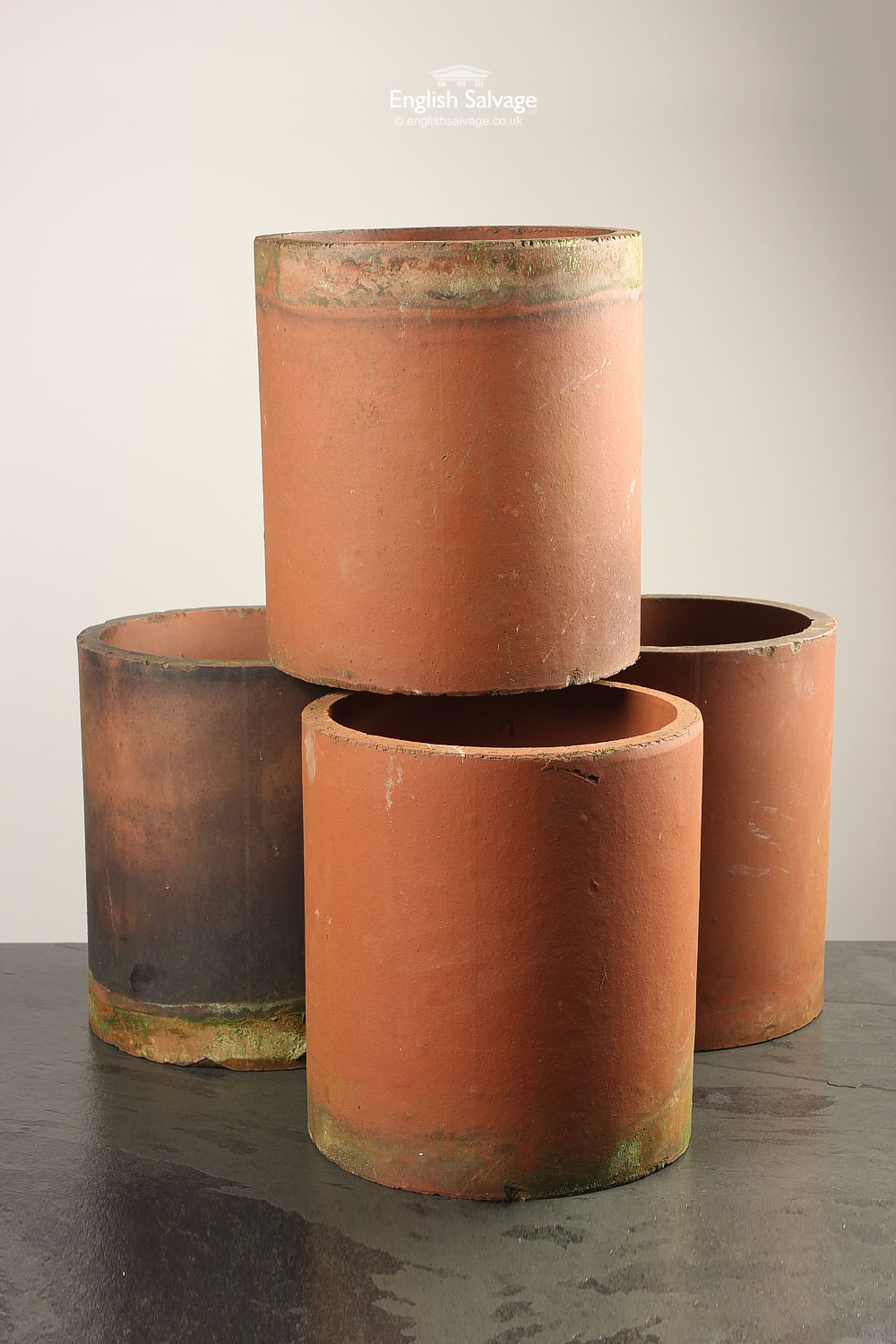Reclaimed Terracotta Chimney Pots Pipes