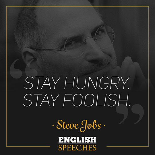 Stay Hungry Stay Foolish Steve Jobs Pdf