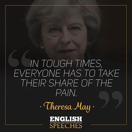 Theresa May Quote