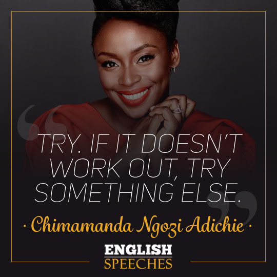 Chimamanda Ngozi Adichie Quote