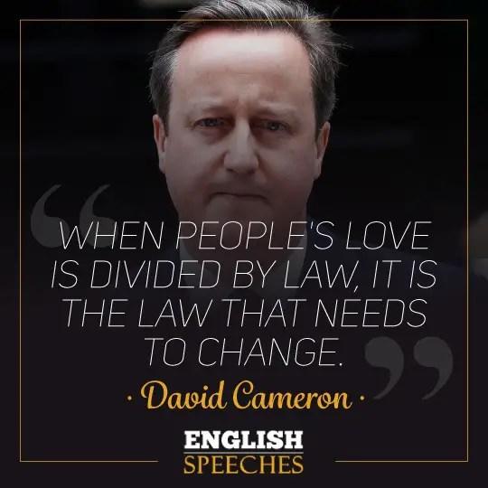 David Cameron Quote
