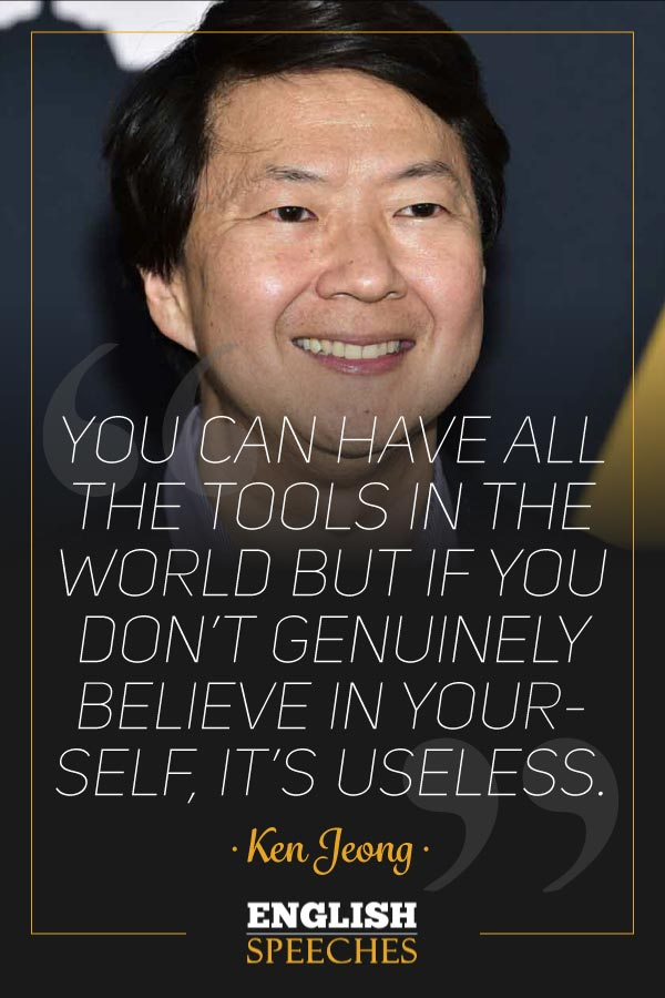 Ken Jeong Quote