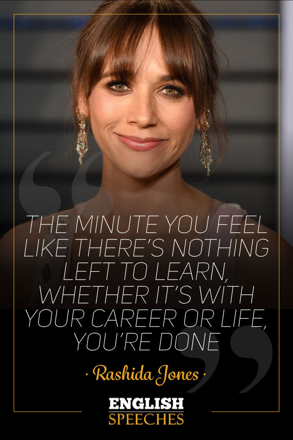 Rashida Jones Quote