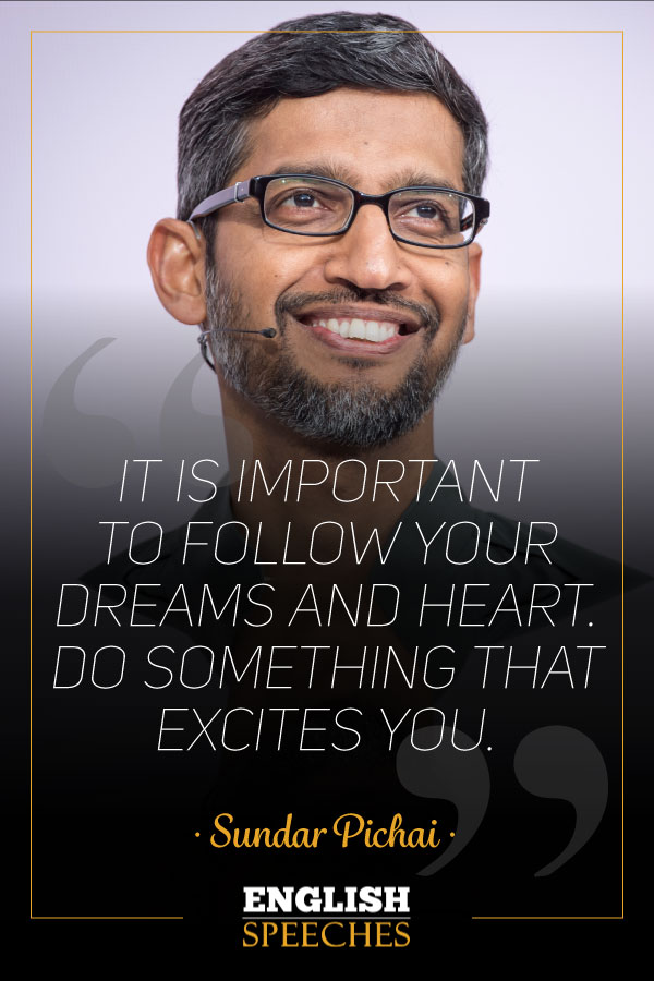 Sundar Pichai Quote
