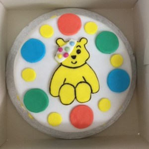 friday cake has morphed into charity cake day so please come and help yourself to a slice for children in need and make you donation