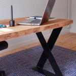 Sky High Design waney edge timber desk