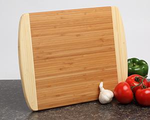 Personalized Cutting Board - Bamboo 2 Tone 14x11