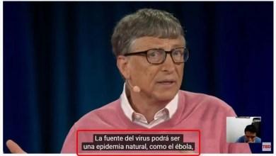 Photo of Bill Gates predijo el coronavirus CoVid-19
