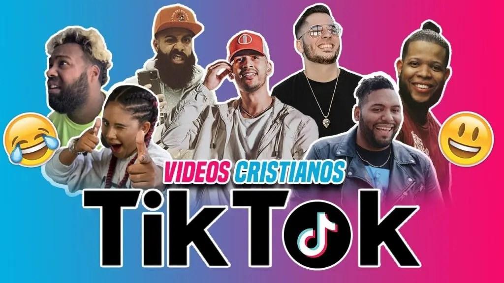 Recopilación de los mejores Tik Tok de cantantes cristianos