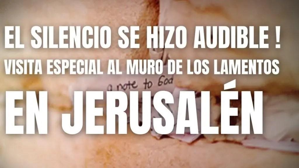 Visita especial al Muro de los Lamentos en Jerusalén