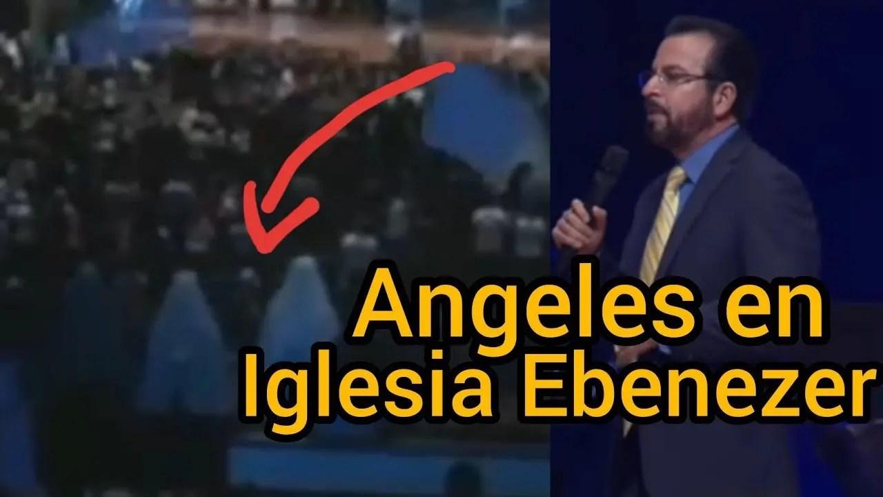 Lee más sobre el artículo Camaras captan la presencia de 2 angeles en Iglesia de Cristo Ebenezer Honduras