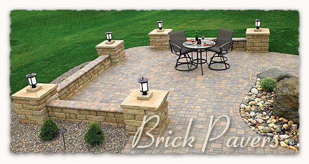 brick paver installation