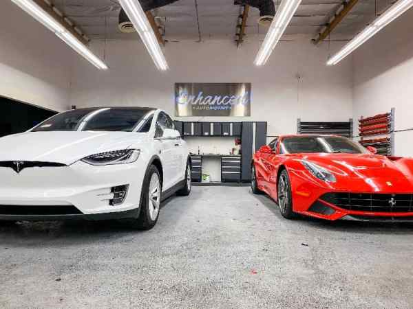 tesla x and ferrari pain protection