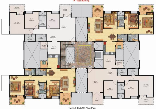 Six Bedroom House Floor Plans Free Printable Images. 10 Bedroom Luxury House Plans   Bedroom Style Ideas