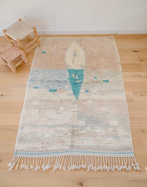tapis couleurs pastel boujaad n 226 tapis berbere eniamor