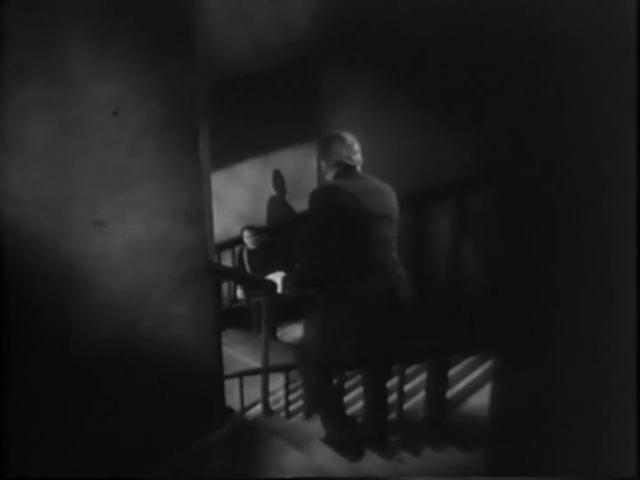 A Long Zig-zag Staircase in BULLDOG DRUMMOND (1929)