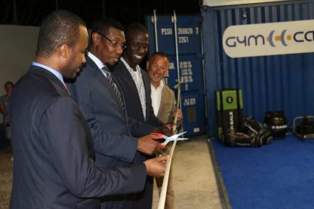 The first GymCap is launched in Chelsea Village, Mogadishu