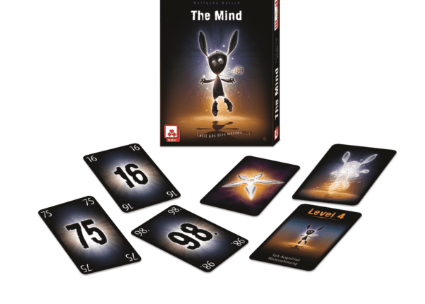 Some of the contents of the Mind Card Game