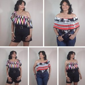 Pattern no. 4 Deana Top and Romper WEAR IT 5 WAYS