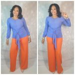 Pattern no. 10 Bryanna Front Knot Top