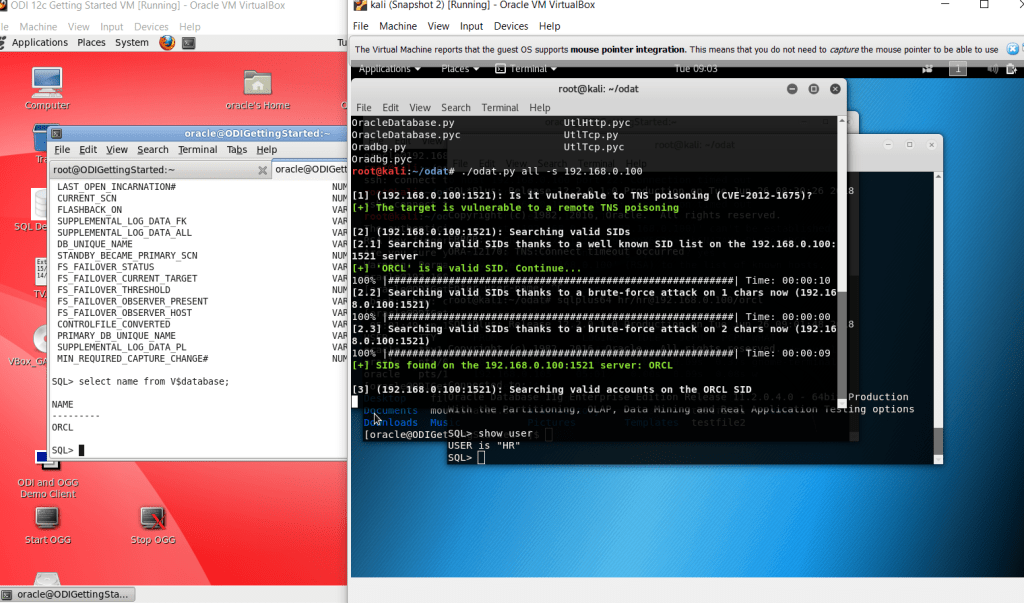 HACKING ORACLE DATABASE WITH METASPLOIT AND ODAT