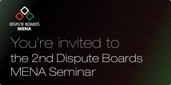 2nd Dispute Boards Seminar