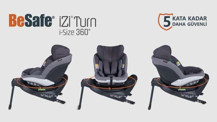 BeSafe iZi Turn i-Size 360 ADAC - En iyi Bebek Oto Koltugu