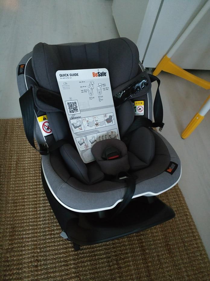 besafe izi turn en iyi bebek oto koltugu kutu acilimi ilk bakis