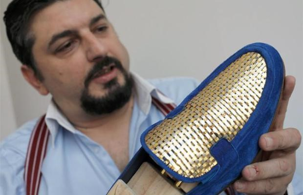 Dreaming big with Gold Shoes