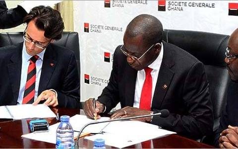 societe generale sign contract