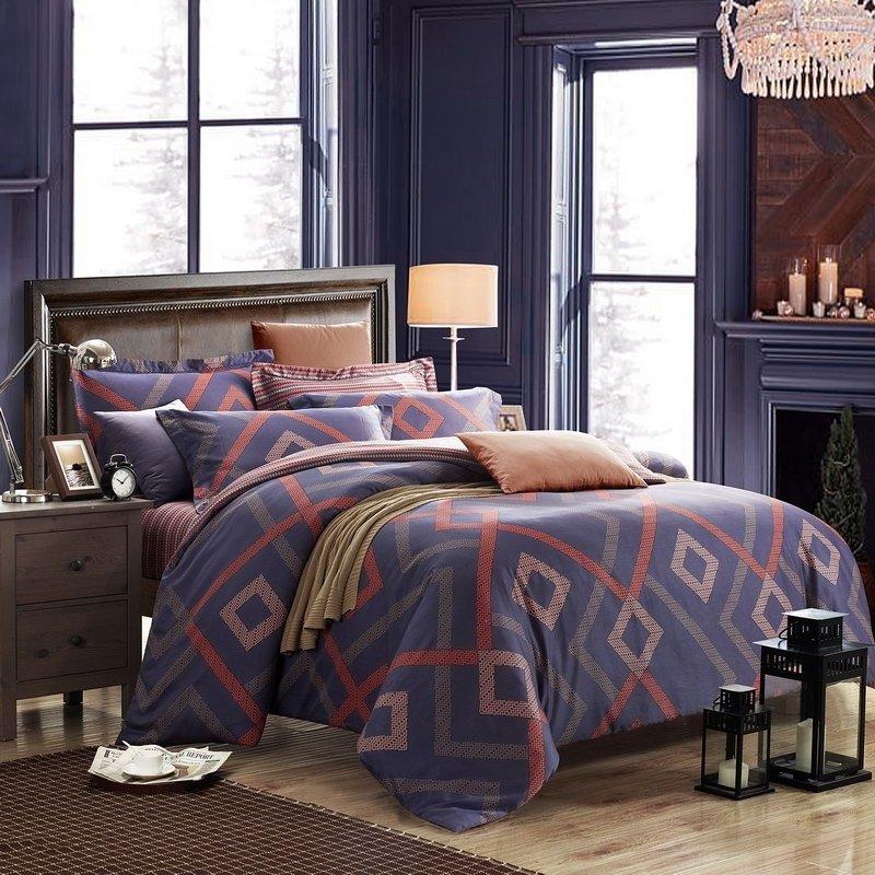 title | Masculine Purple Bedding