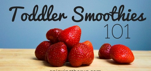Toddler Smoothies 101