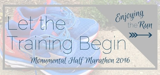 Let the Training Begin: Indy Monumental Half Marathon 2016 | Enjoying the Run