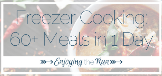 Freezer Cooking | Enjoying the Run (1)