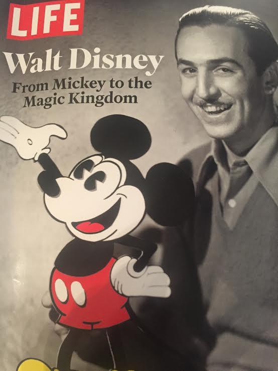 vida de Walt Disney