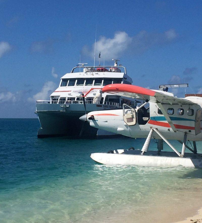 Ferry boat e Seaplane autorizados a entrar na ilha. Foto: Enjoy Miami
