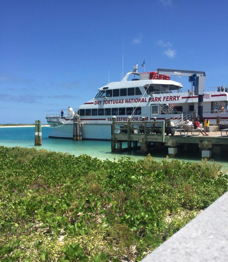 Yankee Freedom III, ferry que leva os visitantes até Dry Tortugas. Foto: Enjoy Miami