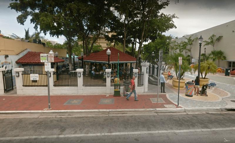 Parque Máximo Gómez ou Domino Park.