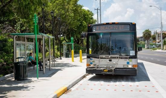 ônibus em Miami
