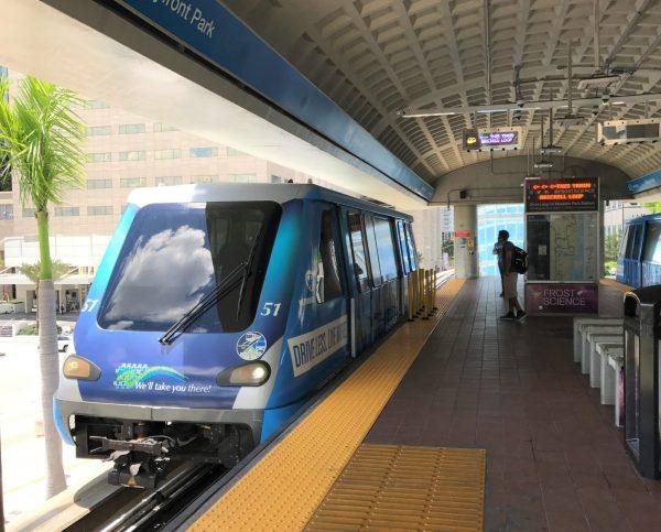 Metromover Miami.