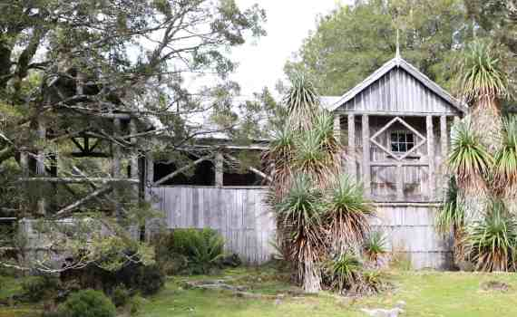 Waldheim was built by hand by Gustav Weindorfer near Cradle Mountain in 1912, long before there was a road in to the area