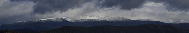 Tasmania's Snowy Range during a polar blast
