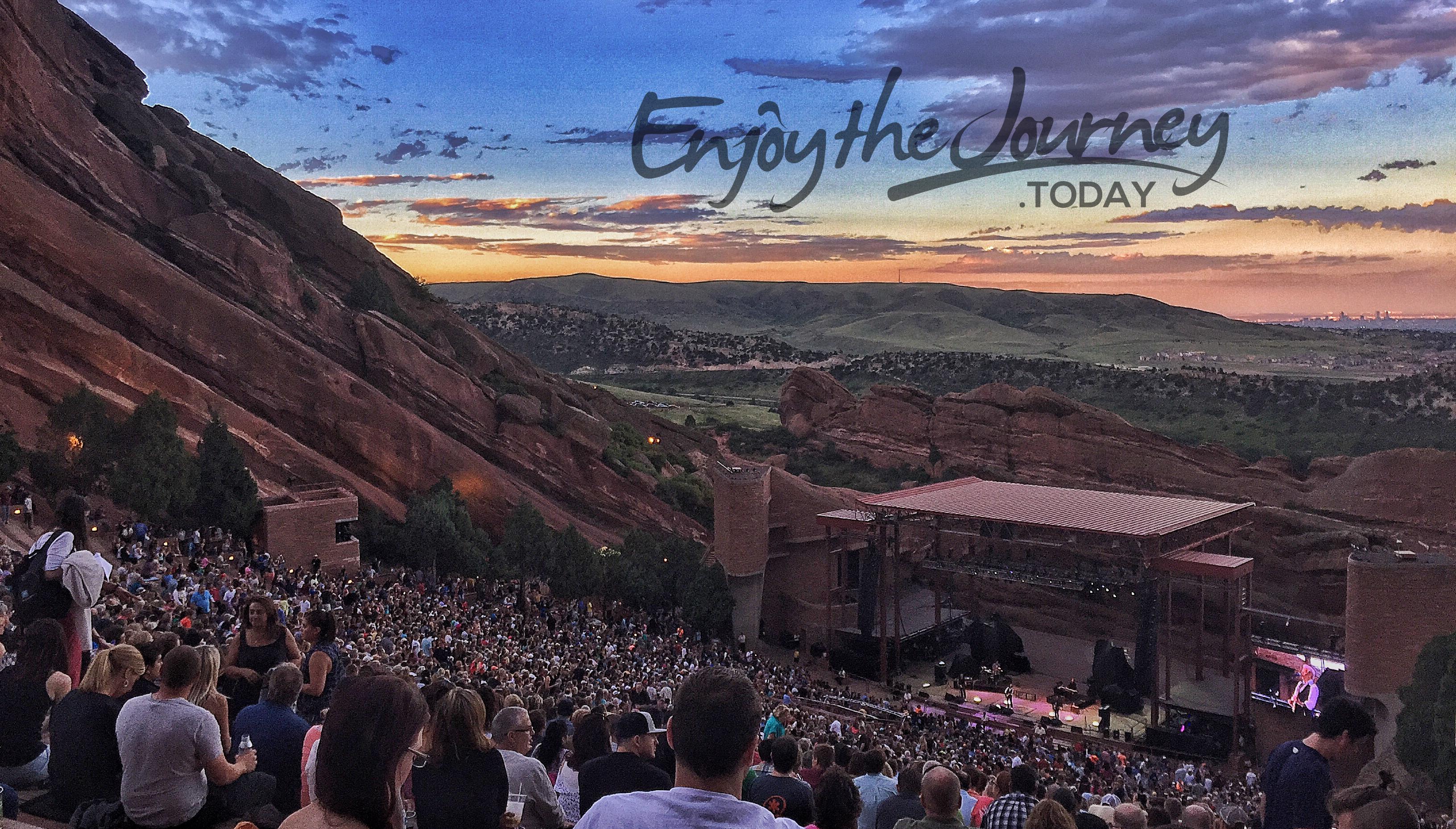 Red Rocks Amphitheatre Colorado Usa Enjoy The Journey