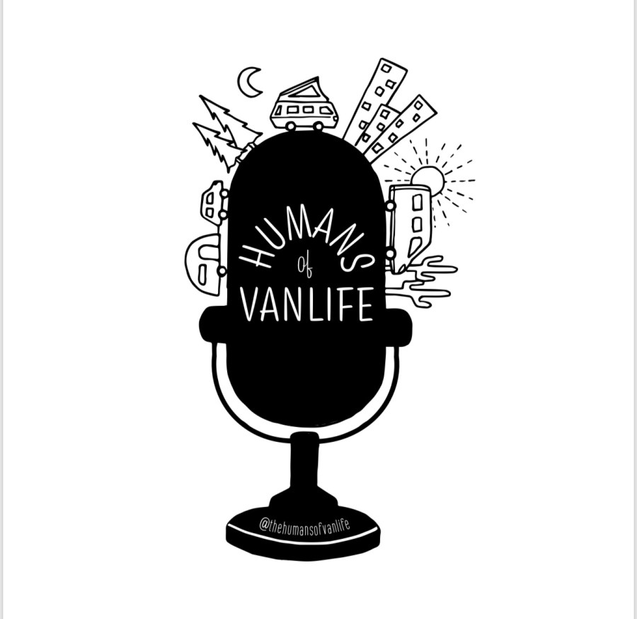 Click the Logo to Listen to more podcasts from Humans of Vanlife